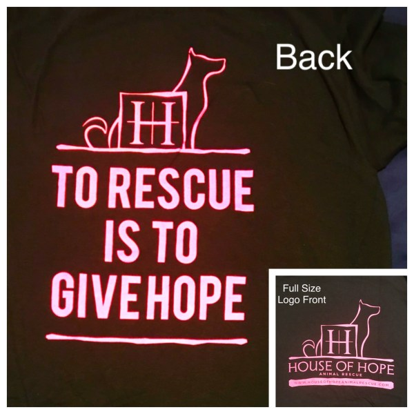 Black SS T-Shirt (To Rescue Is)