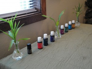 Essential oils add to the massage experience