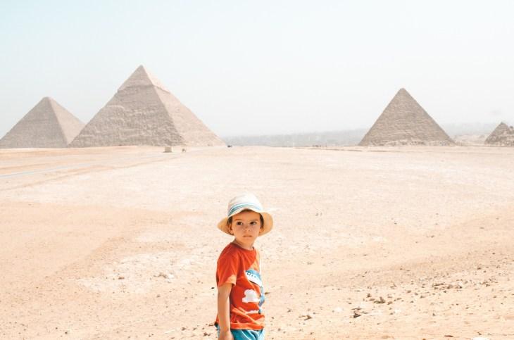 çocukla Mısır