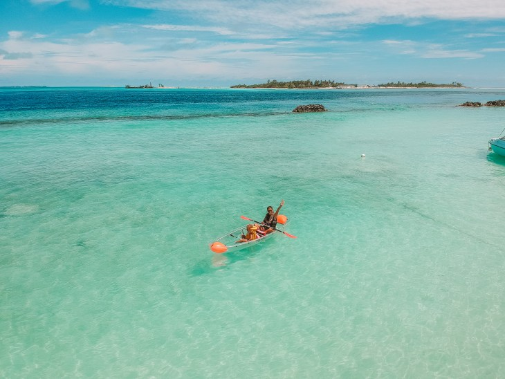 Maldivler'de balayı