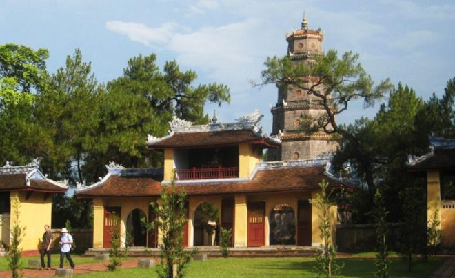 Thien Mu Pagoda, Hue city