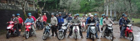 Hue discovery on motorbike