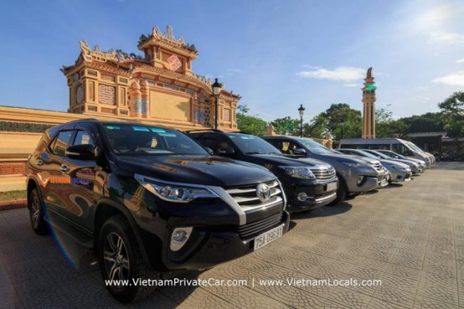 Danang Airport transfer to Hue city