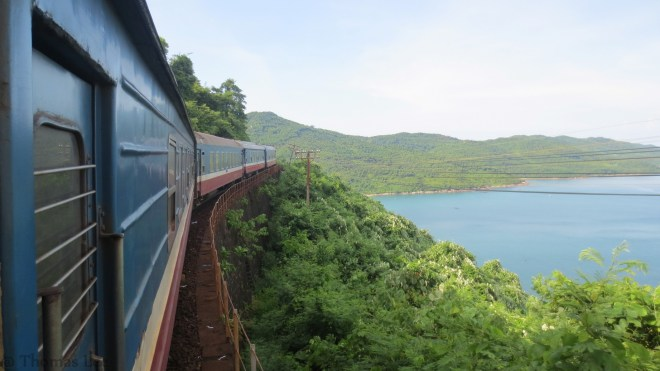 Our best photo from Hue to Danang on train.