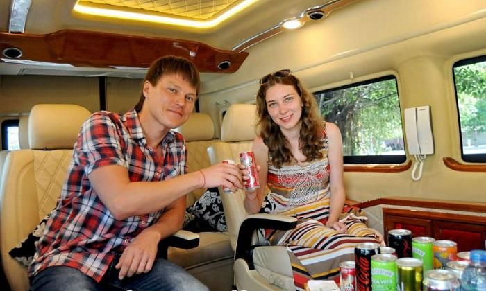Danang luxury limousine car transfers