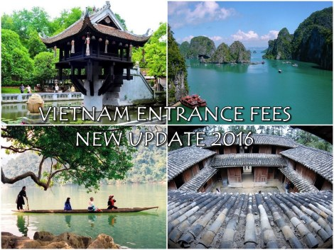 Vietnam Entrance fees