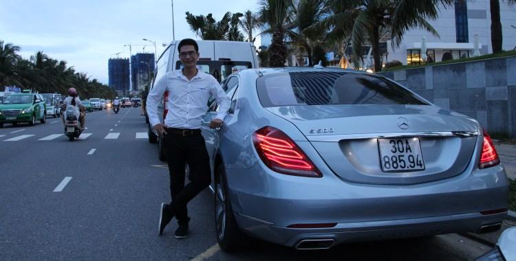 Danang VIP Car Charter Mercedes-Benz S500