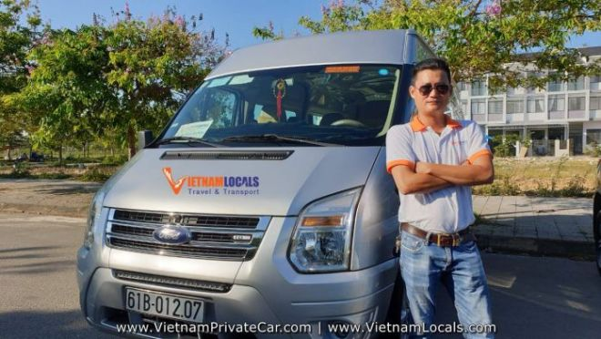 Hoi An Private Driver - Mr Hieu - VAN