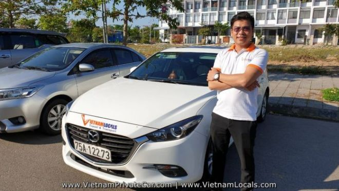 Hoi An Private Car driver Mr Linh