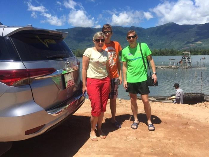 Stop at Lap An lagoon, Phu Loc
