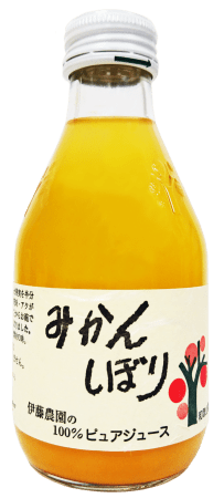 "(English) ""Ito Noen"" 100% Pure Juice (Mikan) 180ml"