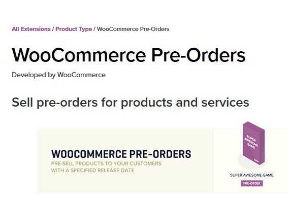 Best WooCommerce Pre Orders Hoicker
