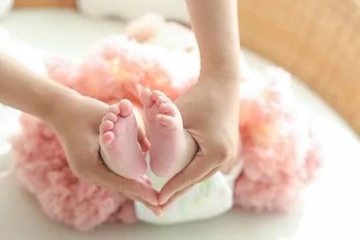 妊娠後の赤ちゃん