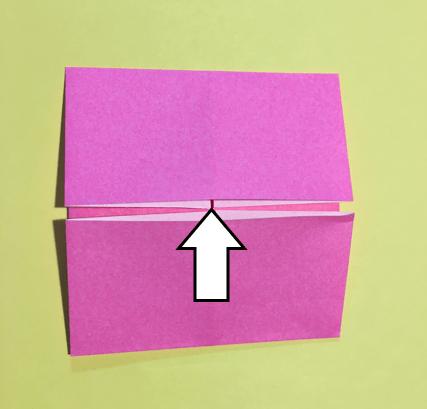 折り紙のメダルの作り方4