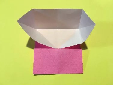 折り紙のメダルの作り方5