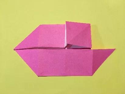 折り紙のメダルの作り方9