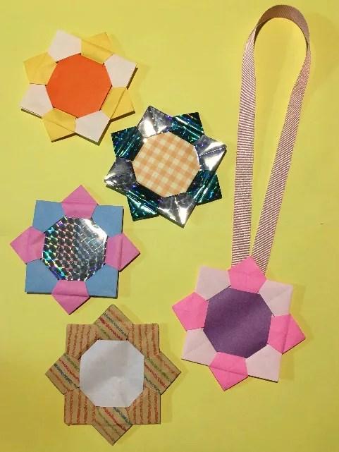 折り紙のメダル