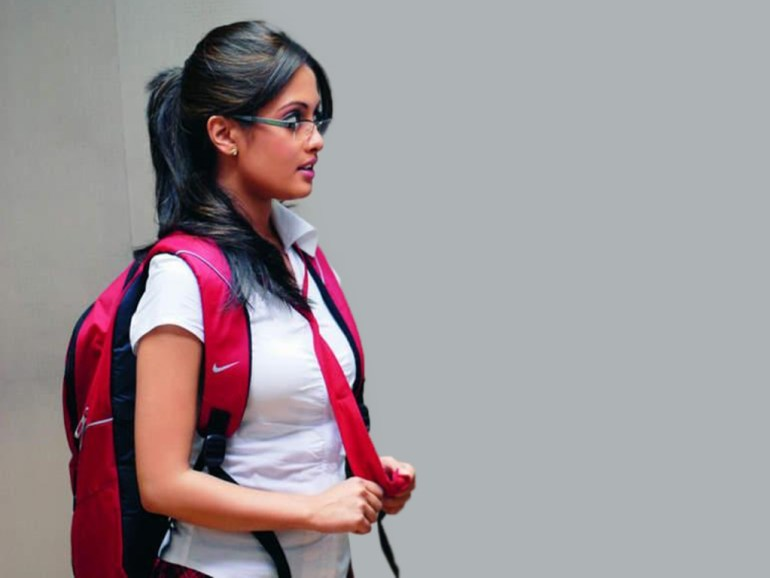 Which Indian actresses look Glamorous in school uniform? 137
