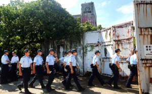saikung-bomb-police