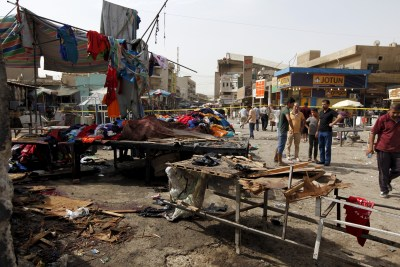 Ataque do EI em Bagdade