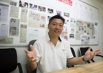 Kou Meng Pok, líder dos lesados do Pearl Horizon. Sofia Margarida Mota