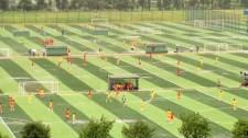 Academia do Guangzhou Evergrande: 75 campos de futebol