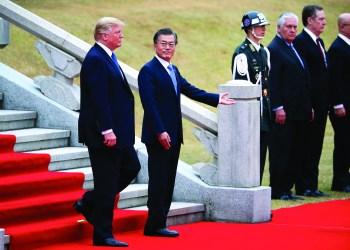 (Kim Hong-ji/Pool Photo via AP)