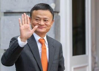Jack Ma, Fundador e chefe executivo da empresa de comércio electrónico chinesa Alibaba