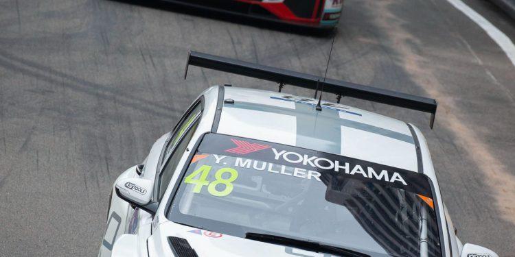 O francês Yvan Muller conquistou o 2º lugar na 65ª edição do Grande prémio de Macau que está nas ruas de Macau, e teve lugar hoje a primeira manga da corrida para a taça do Mundo de carros de Turismo da FIA, Macau, 17 de Novembro de 2018. CARMO CORREIA/LUSA