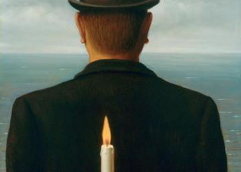 """""""A reprodução interdita"""" de René Magritte"""