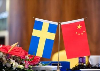 PEKING 2017-06-26  Sverige hade en stopr delegation på plats när Sweden China Innovation Forum inleddes på Swissotel i Peking på måndagen.  Foto: Maja Suslin / TT / Kod 10300