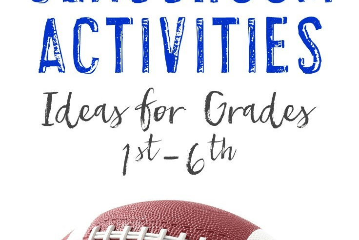 Are You Ready for Some Football?! Classroom Activities!