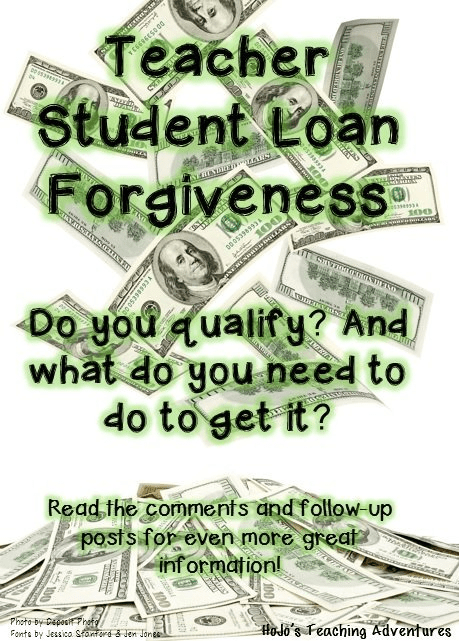 Teacher Student Loan Forgiveness - Find out how one teacher got over $7,000 forgiven and how you might qualify for over $17,500 forgiven!