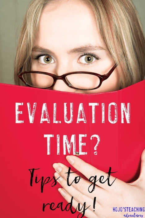 Evaluations can be stressful and intimidating, but they don't need to be! Use the teacher evaluation tips in this post to help you get prepared to ROCK your next eval!