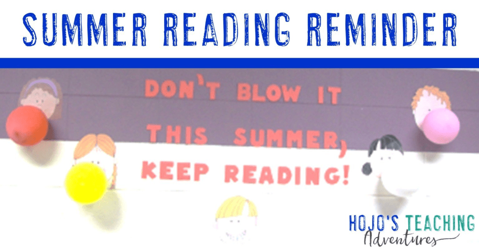 Don't Blow It! Keep Reading This Summer!
