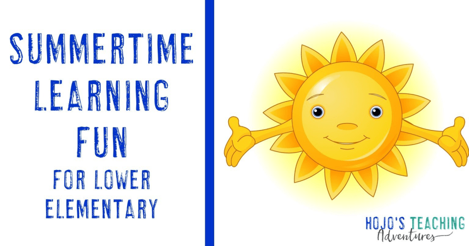 Summertime Learning FUN! {Lower Elementary}