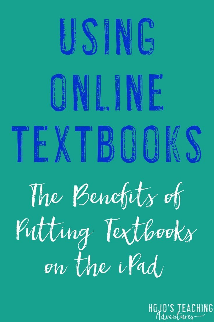 Using Online Textbooks - Hojo's Teaching Adventures