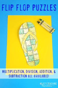Click here to purchase Flip Flop Puzzles!