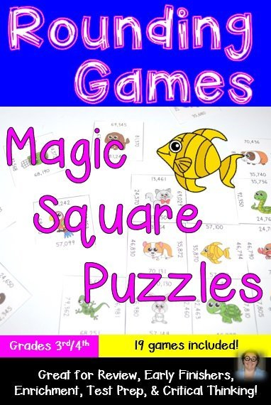 Looking for some rounding games to help your students round better during math class? Look no further! With these 19 puzzle games, your students are bound to be pros in no time! Plus you can differentiate to meet the needs of all the different learners in your classroom! $