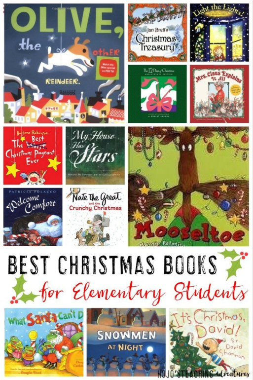 On the lookout for some great Christmas books for the elementary classroom? Then you'll love this list of 17 favorites by K-6 elementary classroom teachers! Click through to find great books to use for your Kindergarten, 1st, 2nd, 3rd, 4th, 5th, or 6th grade classroom or homeschool students all December long!