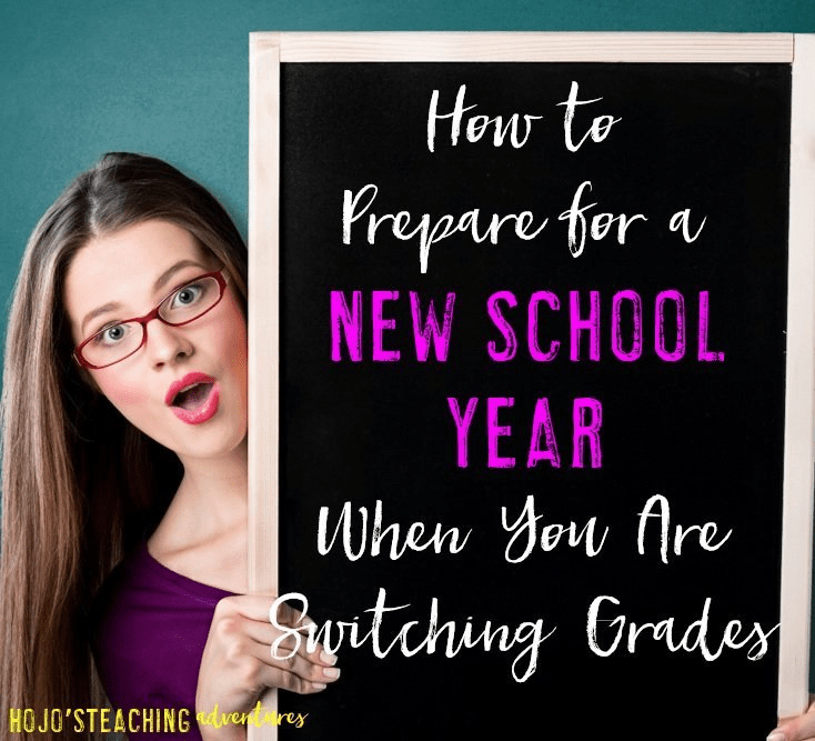 Are you switching grade levels next school year? Here are seven tips to help you prepare for the new school year when switching. Great ideas that you can implement right away to help you feel more confident in your move!
