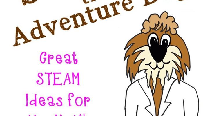Sammie STEAM the Adventure Dog!