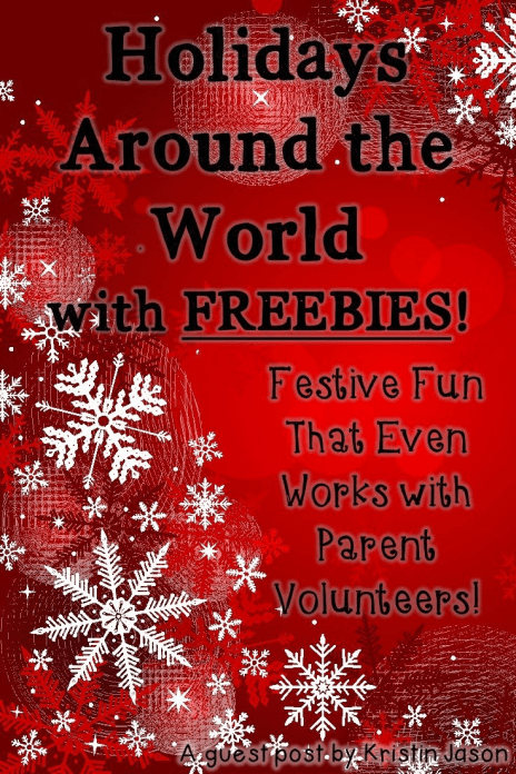 Your 2nd, 3rd, 4th, and 5th grade classroom students are going to LOVE these Holidays Around the World ideas! You get FREE printables to use to make your Christmas Around the World festivities the best they can be! Click through to check it all out!!