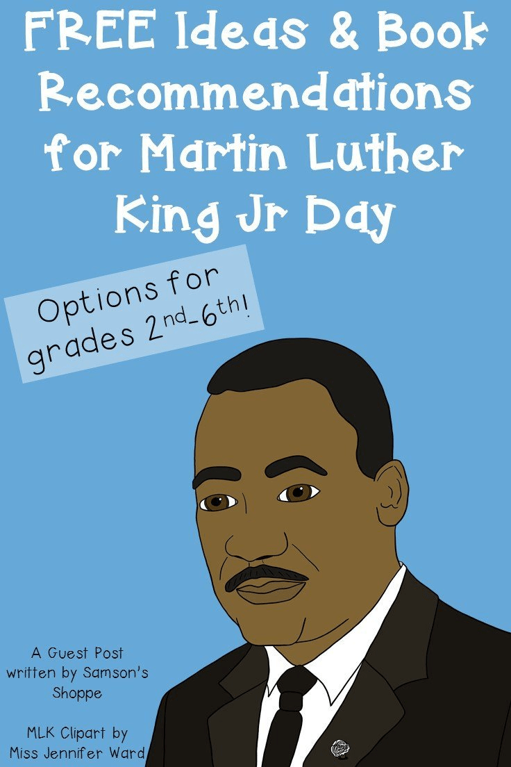 Free Ideas Book Recommendations For Martin Luther King Jr Day