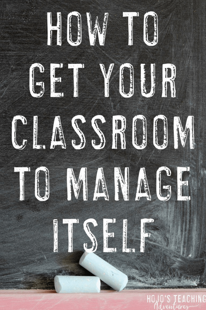 Getting your classroom to manage itself can be a challenge, but it doesn't have to be! Click through to see the tips to help your classroom run itself. These ideas will work with your Kindergarten, 1st, 2nd, 3rd, 4th, 5th, or 6th grade classroom. Implement them at any time when you want behaviors under control. {Kindy, first, second, third, fourth, fifth, sixth graders, middle school} #HoJoTeaches