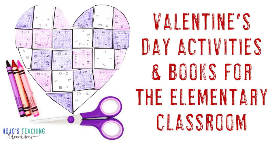 Valentine's Day Activities, Books, & More!