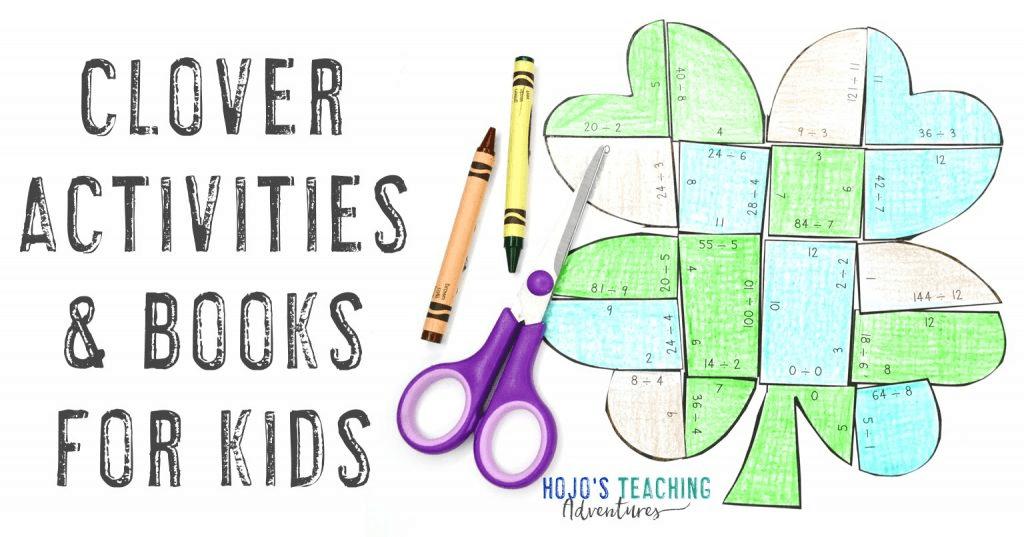 Clover Activities & Books or Kids