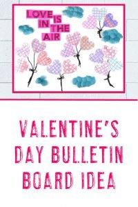 Valentine's Day Bulletin Board Idea