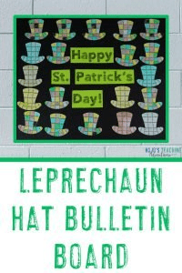 Leprechaun Hat Bulletin Board - Happy St. Patrick's Day!