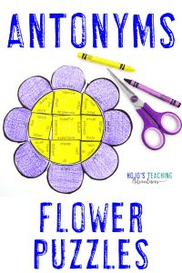 Click here to buy ANTONYM flower puzzles!